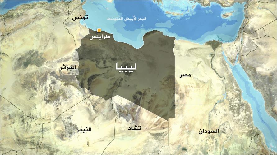 الحدود الجزائرية الليبية ،مصدر الصورة (الجزيرة)