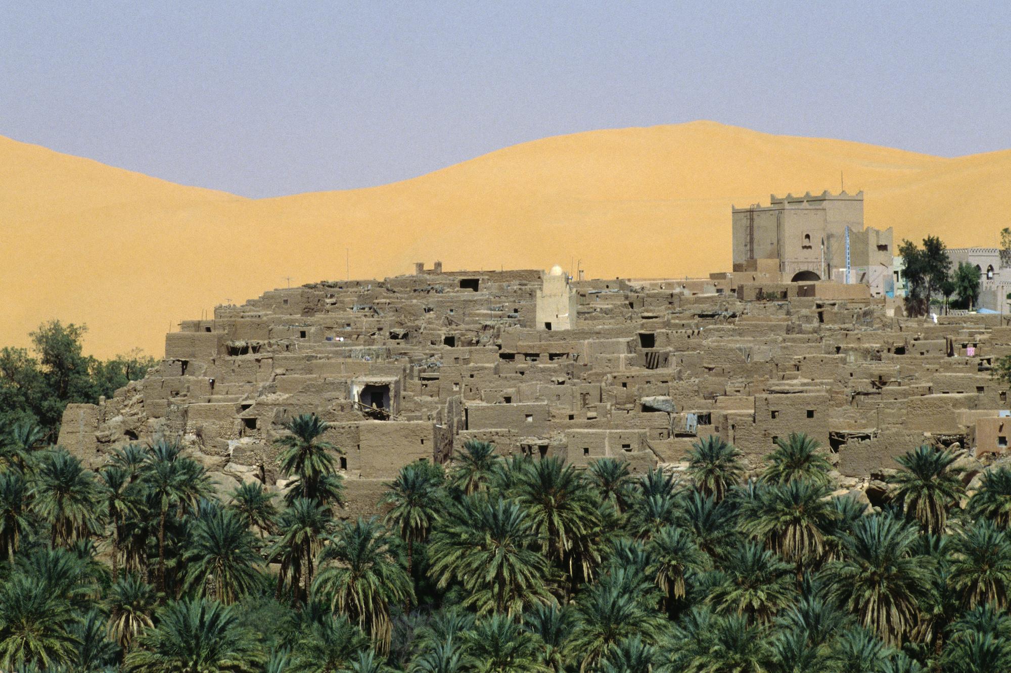 مدينة تاغيت في ولاية بشار.